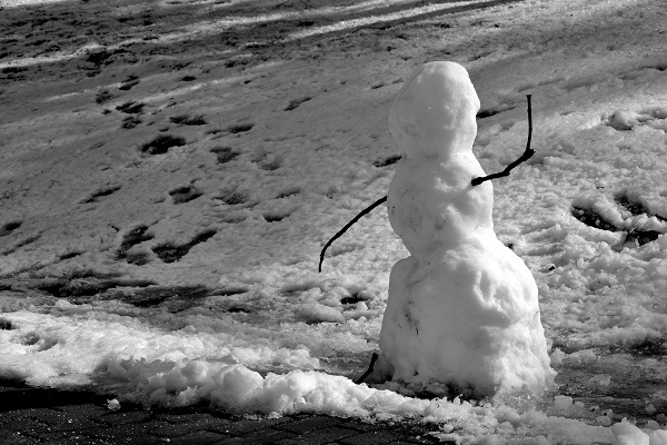 The Saddest Snowman Ever