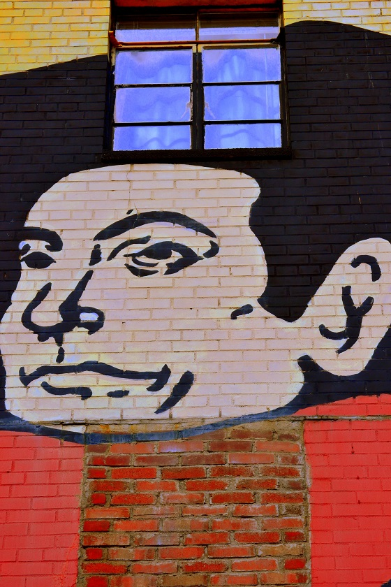 The Man in the Mural