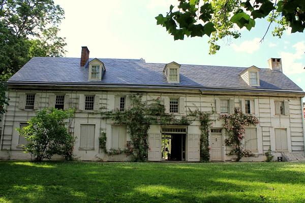 Wyck House in Germantown, Philadelphia, PA, USA