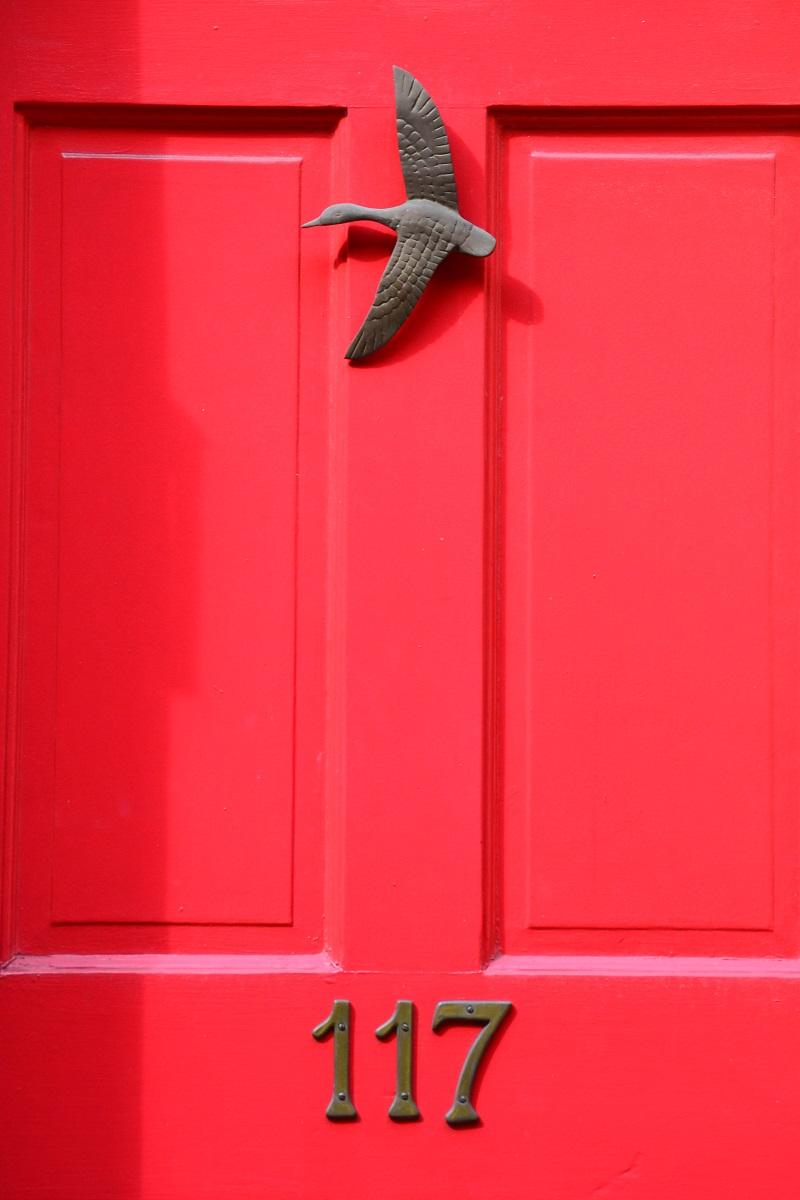 Doorway in Elfreth's Alley
