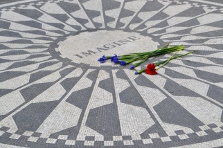 Strawberry Fields, or -- if you prefer -- the John Lennon Memorial Gardens.
