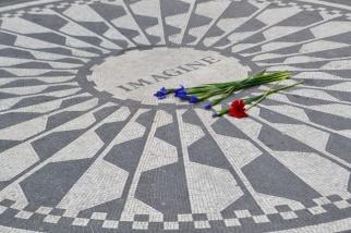 Strawberry Fields, or -- if you prefer -- the John Lennon Memorial Gardens.