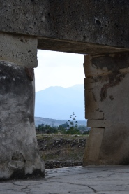 Mountains and Ruins