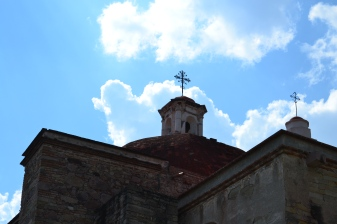San Pablo Church Against a Backdrop of Sky